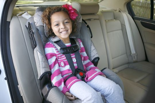 Forward Facing Child In Car Seat