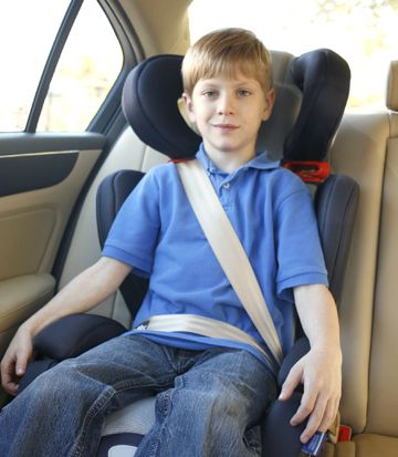 Backless Booster Highback 3 Left Child In Seat